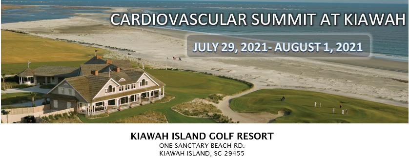 Cardiovascular Summit 2021 at Kiawah Banner